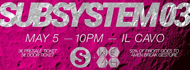 Subsystem 03 x WE (flyer)