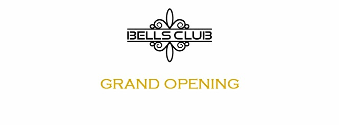 Bells Club Grand Opening (flyer)