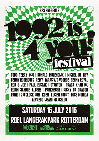 1992 is 4 you! festival (flyer)