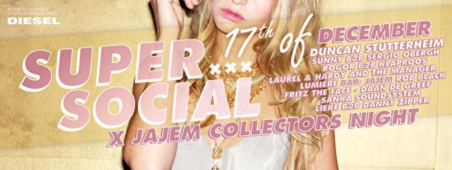 Super Social × JaJem (flyer)