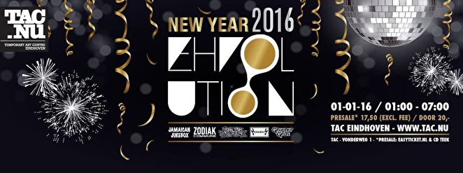 EHVolution - New Year 2016 (flyer)