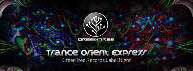 GreenTree Records Label Night (flyer)