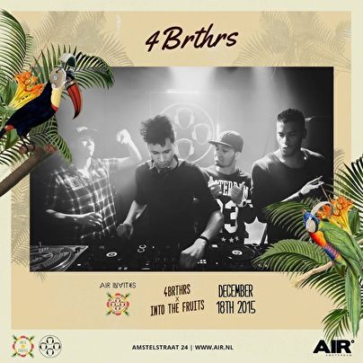 4BRTHRS x Into the fruits (flyer)