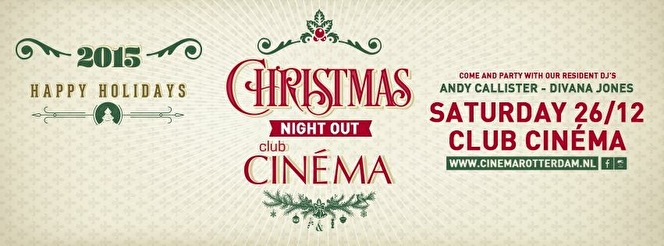 Christmas Night out (flyer)