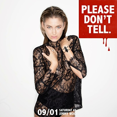 Please Don't Tell (flyer)