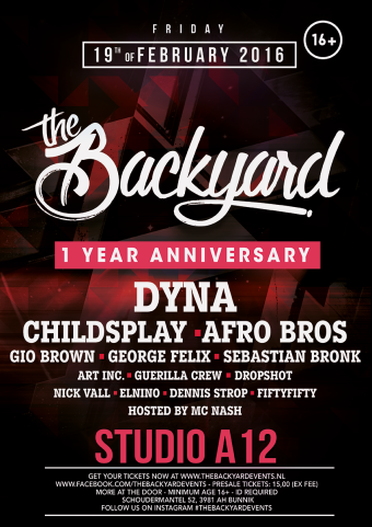 The Backyard (flyer)