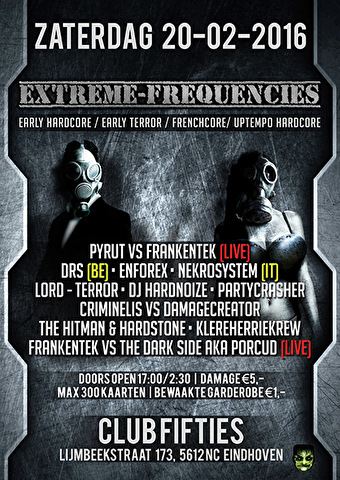 Extreme Frequencies (flyer)
