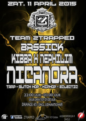 Ztrapped (flyer)