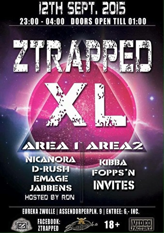 Ztrapped XL (flyer)