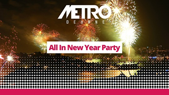 All-in new years party (flyer)