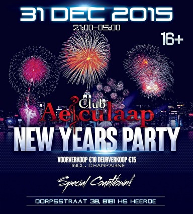 New Years Party (flyer)