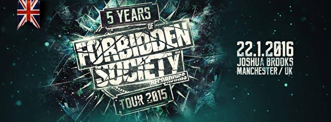 flyer Forbidden Society Recordings