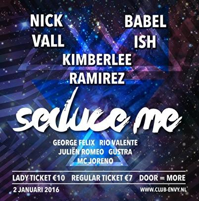 Seduce Me (flyer)