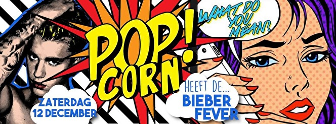 Popcorn heeft de Bieber Fever (flyer)