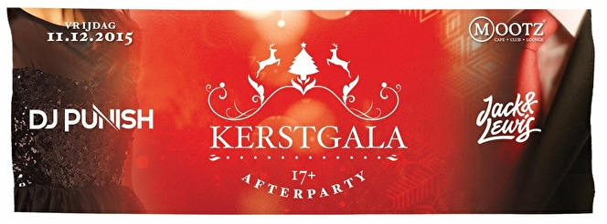 Kerstgala Afterparty (flyer)