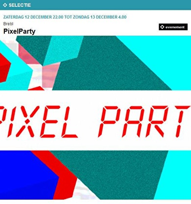 PixelParty (flyer)