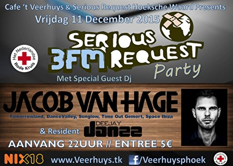 Veerhuys presents - Serious Request Party (flyer)