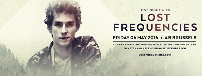 Lost Frequencies (flyer)