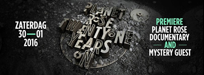 Planet Rose TwentyOne Years On (flyer)