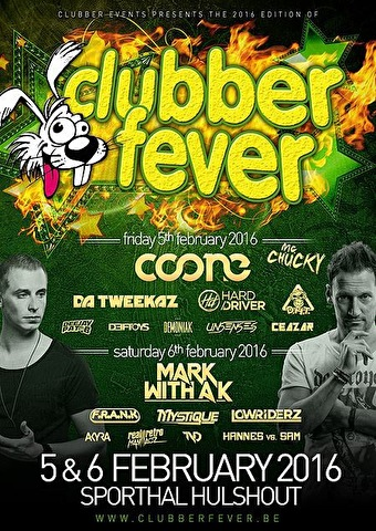 Clubber Fever (flyer)
