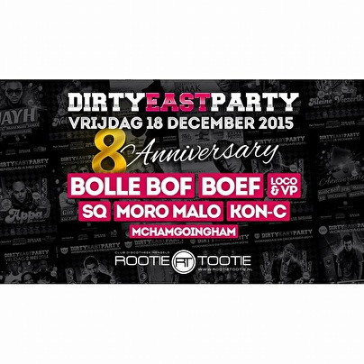 Dirty east party (flyer)