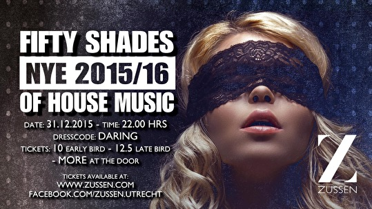 Fifty Shades Of House Music (flyer)