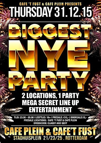 Biggest New Years Party (flyer)