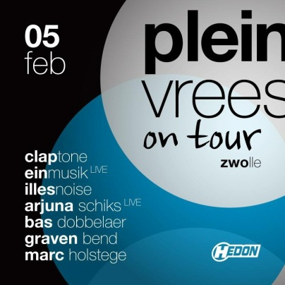Pleinvrees On Tour (flyer)