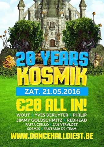 20 Years Dj Kosmik (flyer)