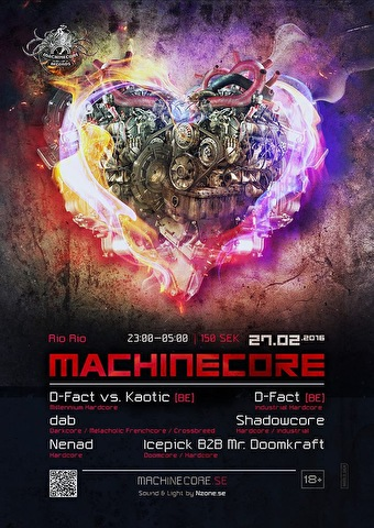 Machinecore (flyer)