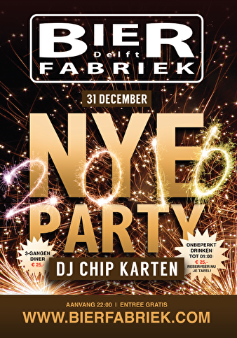 NYE Party! (flyer)