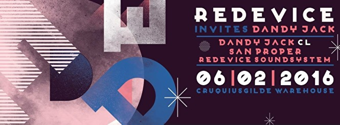 Redevice invites Dandy Jack (flyer)
