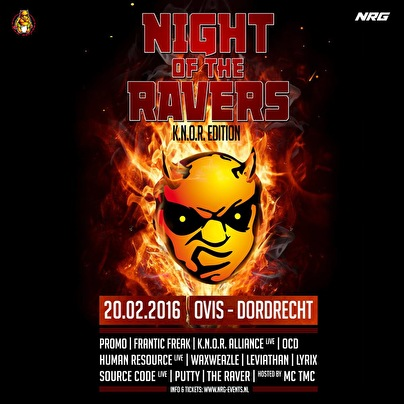 Night of the Ravers (flyer)