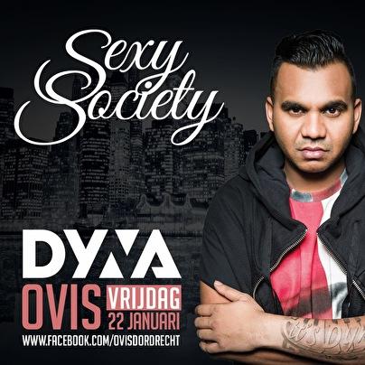 flyer Sexy Society