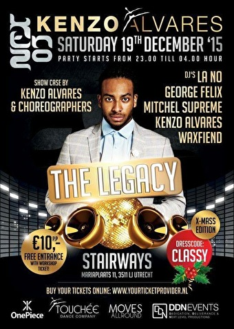 The Legacy Party (flyer)