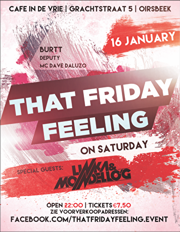 That Friday Feeling (flyer)