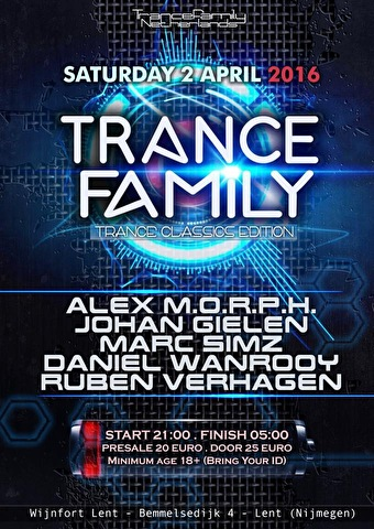 Trance Family (flyer)