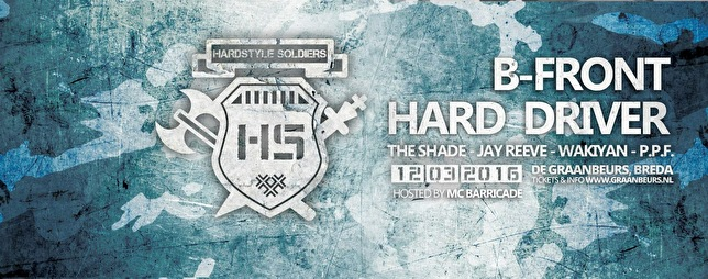 Hardstyle Soldiers (flyer)