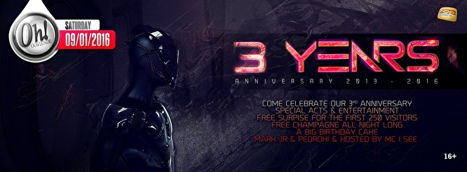 3 Years the Oh! (flyer)