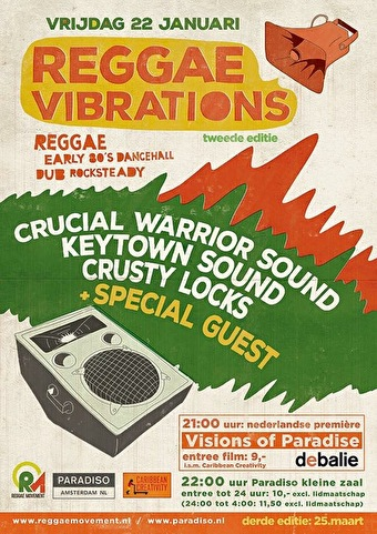 flyer Reggae Vibrations