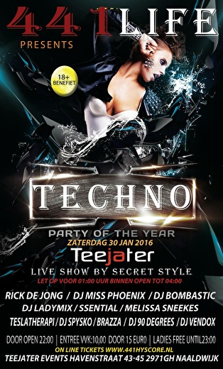Techno (flyer)