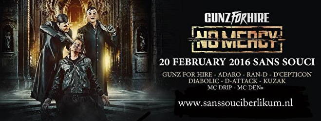 Gunz for Hire (flyer)