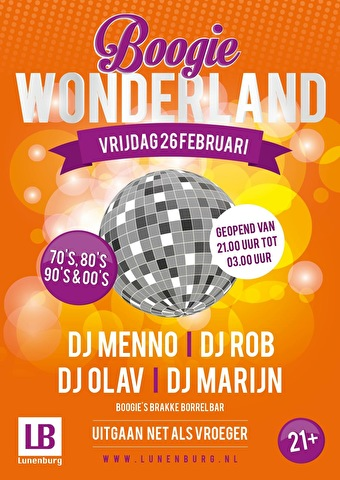 Boogie Wonderland (flyer)