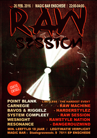 Raw Session (flyer)