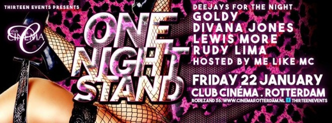 One Night Stand (flyer)