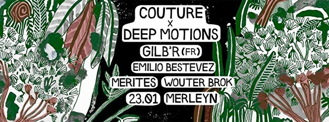 Couture x Deep Motions (flyer)