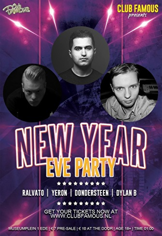 New Year's Eve Party (flyer)
