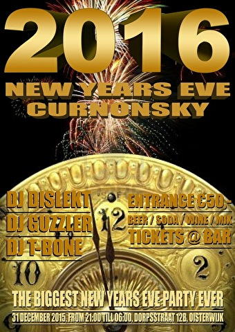 New Years Eve Party (flyer)
