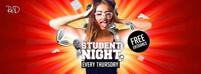 Studentnight (flyer)
