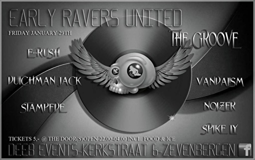 Early Ravers United (flyer)
